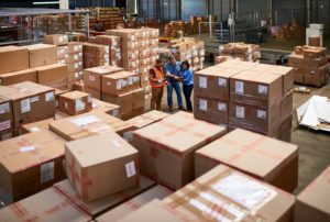 ОБработка на складе в Китае